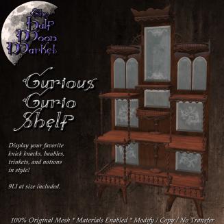 Curious Curio Shelf