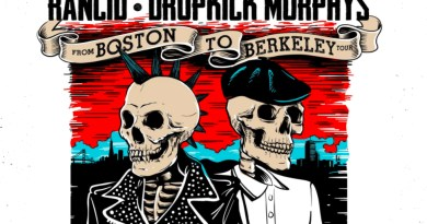 Rancid/Dropkick Murphys tour poster