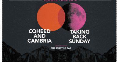 Taking Back Sunday, Coheed and Cambria