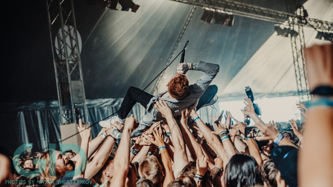 Frank Carter & The Rattlesnakes at Jera on Air