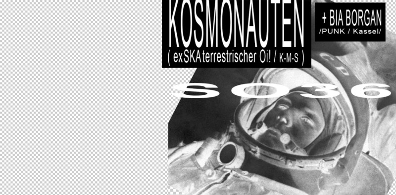 Kosmonauten 06.09. Konzertposter
