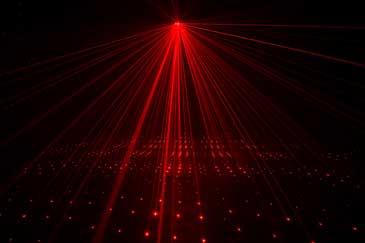 Micro Galaxian Laser Light