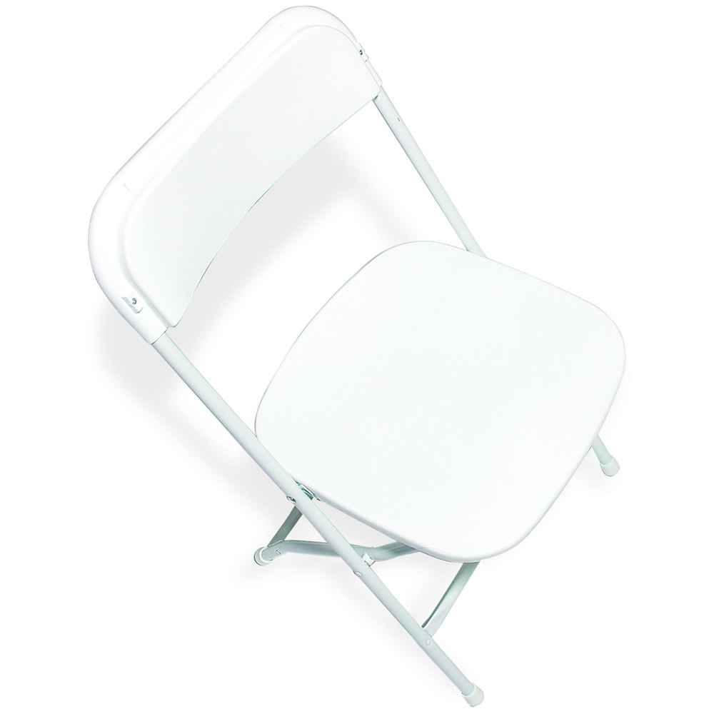 white plastic chairs frontgate lounge general rental indoor chair folding wedding