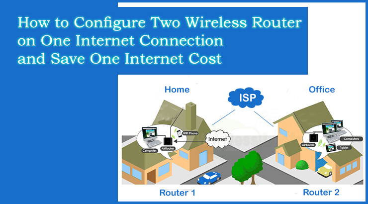 How to share two Wireless Router on One Internet Connection