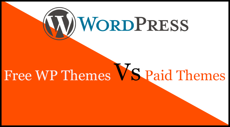 Free WP Themes Vs Paid Theme