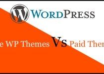free wp themes Vs Paid Theme