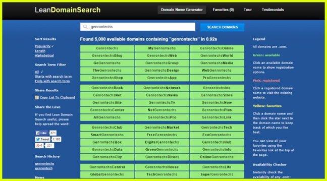 leandomainsearch-Domain-Name-Generator
