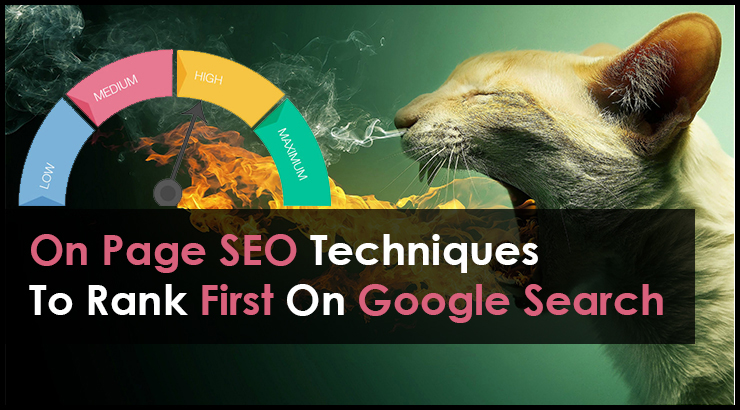 Best On Page SEO Techniques To Rank First On Google Search