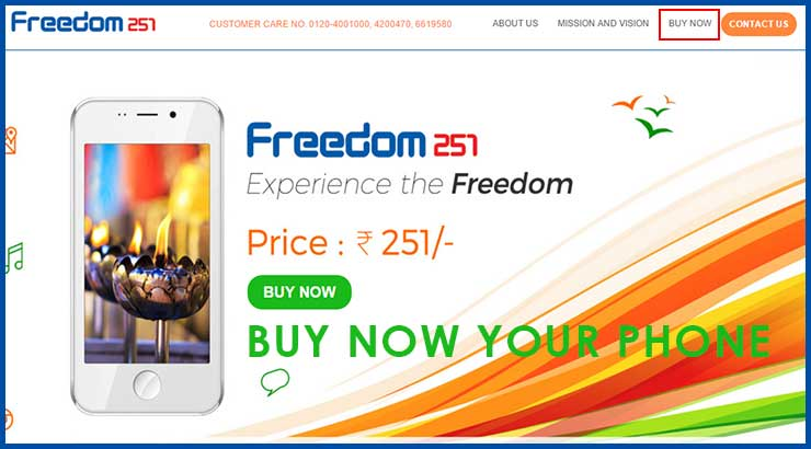 Freedom 251 Phone Online Booking Step By Step – @Rs 251