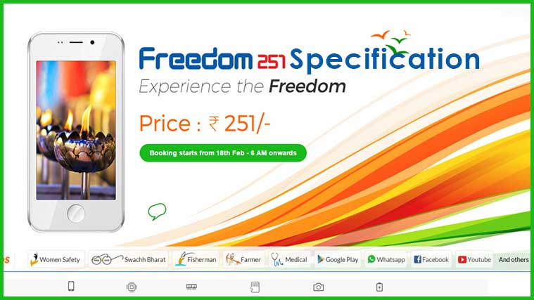 Ringing Bells Freedom 251 Videos Detailed Specifications & Features