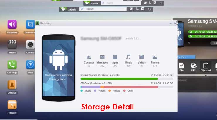 how to transfer files from pc to android phone