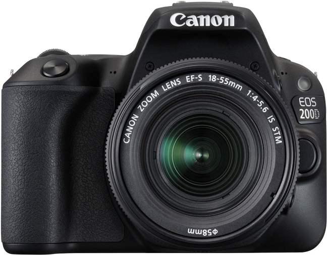 Canon EOS 200D 24.2MP Digital SLR Camera
