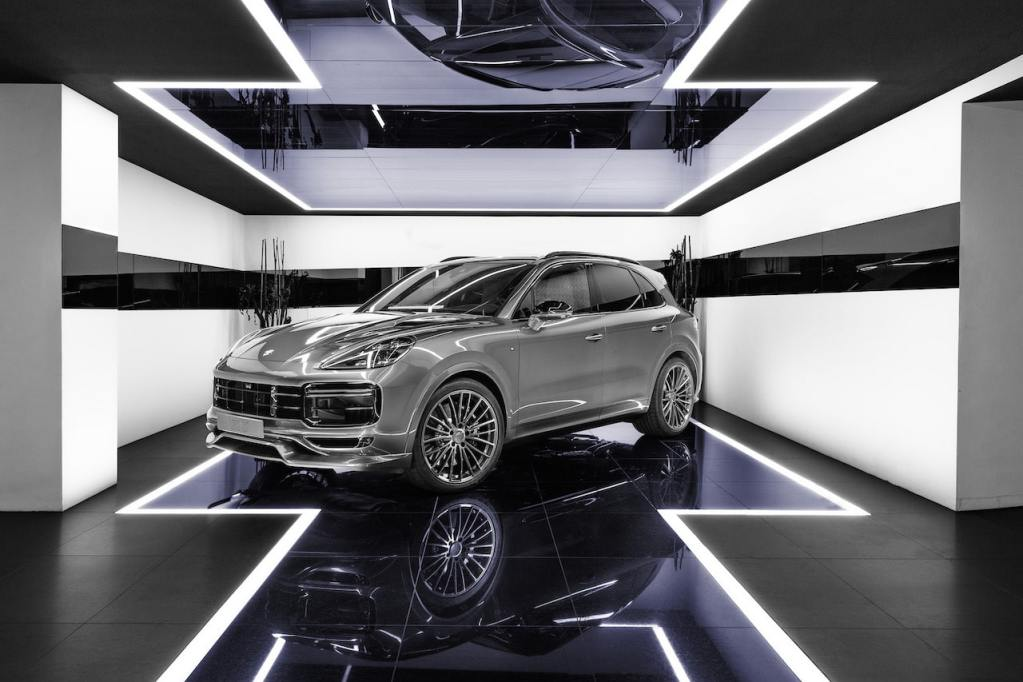 TECHART engine powerkit for the Cayenne