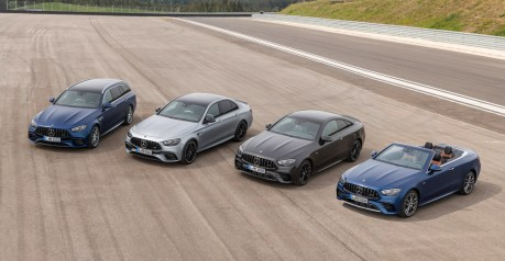 メルセデスAMG、E 53とE 63をマイナーチェンジして本国発売。全車にパナメリカーナグリルを採用 - Neue Mercedes-AMG E-Klasse Modelle jetzt bestellbar: Verkaufsstart für umfassend aufgewertete Limousine, T-Modell, Coupé und CabrioletNew Mercedes-AMG E-Class models now available to order: Sales release for comprehensively upgraded Saloon, Estate, Cou