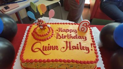 The Bday Cake from Jollibee