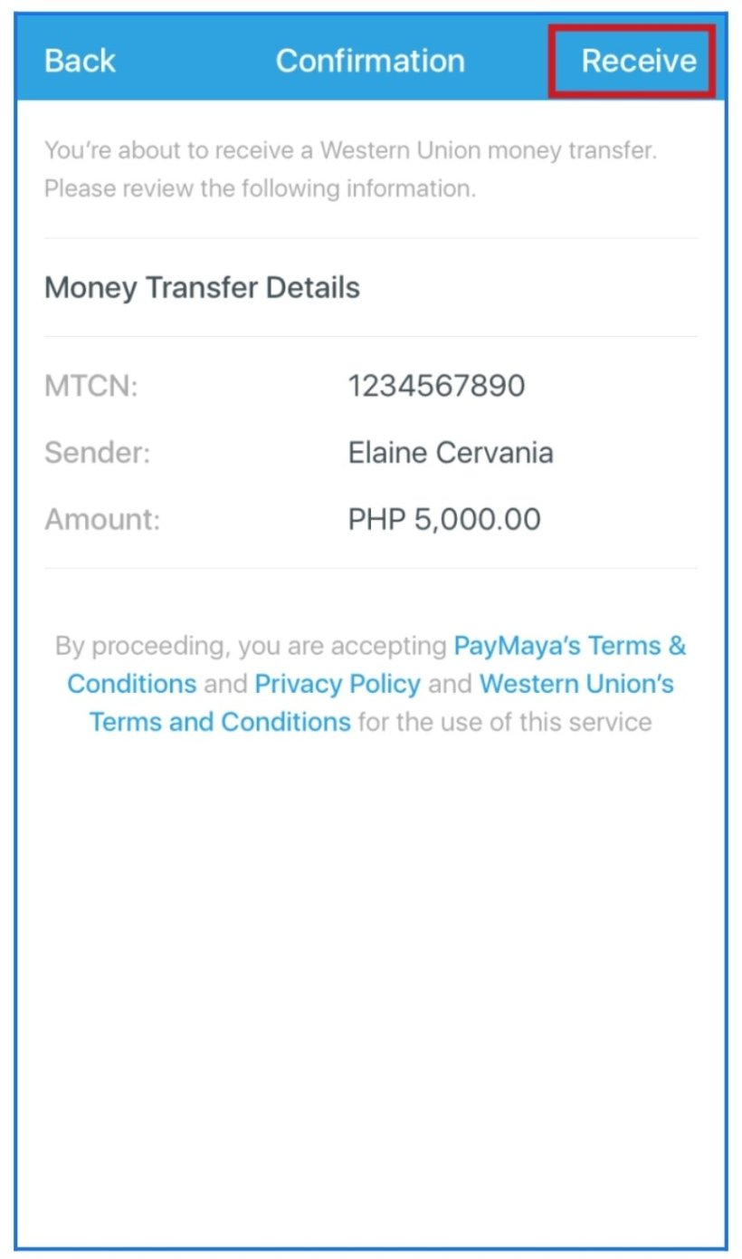 Receive Western Union Remittances via PayMaya Easily & Get a Chance