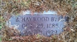 B. Haywood Byrd