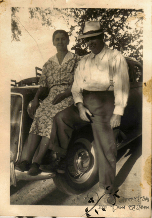 Junius Welker Cline and wife, Mary Elizabeth Walter Cline