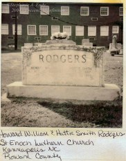 Howard William Rodgers and Hattie Smith Rodgers