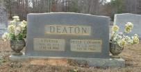 Deaton_AParham_and_BessieC_LibertyHillBapt_MtGileadMontgomeryCoNC