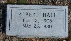 Hall_Albert_LibertyHillBapt_MtGileadMontgomeryCoNC