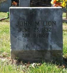 Lion_JohnM_WhiteCrestBapt_MtGileadMontgomeryCoNC