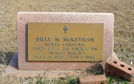 McKethan_BillyM_LibertyHillBapt_MtGileadMontgomeryCoNC