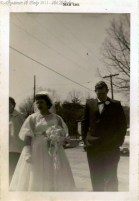 Red and Louise - Married 26 March 1961