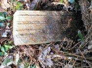 No marking on stone