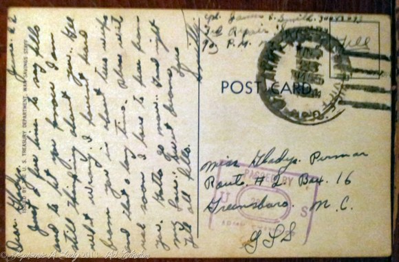 warbondpostcard22jun1945_backhorizontal