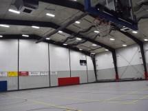 Steel Building Basketball Gym