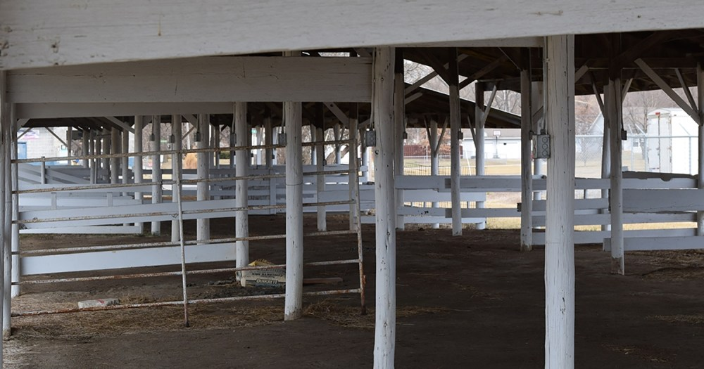 medium resolution of typical pole barn interior framing