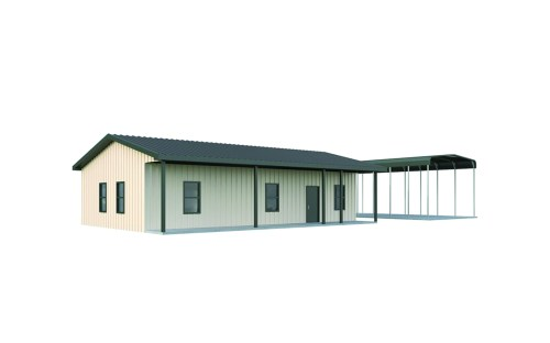 small resolution of 30x40 alkire metal home