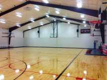 High School Basketball Gym