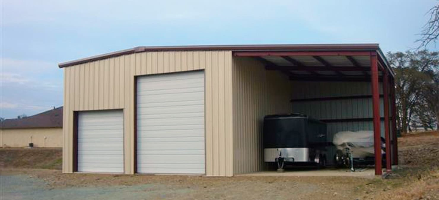 Metal Building Garage Apartment