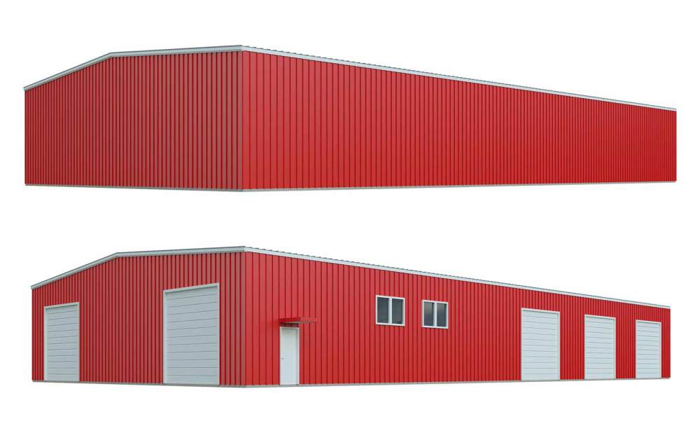 medium resolution of custom general steel metal buildings