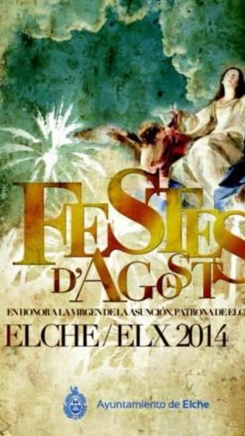 Fiestas Agosto-Elche-2014-cartel