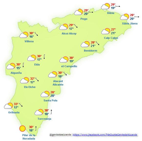 El-Tiempo-en-Alicante-y-provincia-hoy-16-de-Octubre