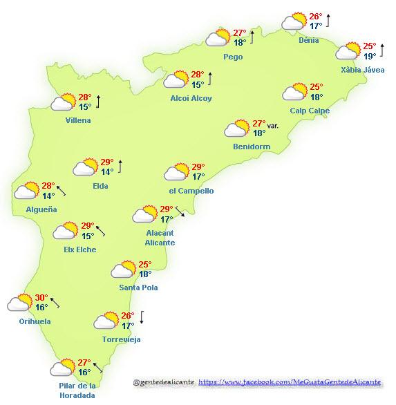 El-Tiempo-en-Alicante-y-provincia-hoy-25-de-Octubre