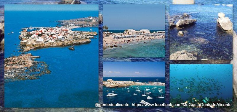 Isla de Tabarca, Alicante.