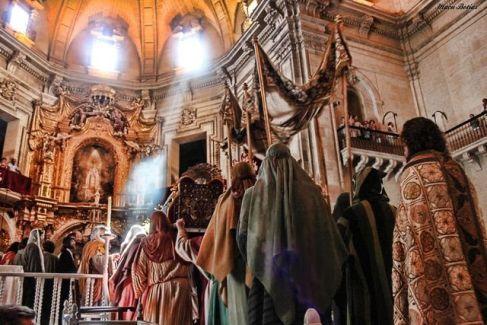 procesion-virgen-fiestas-agosto-elche-provincia-alicante-españa