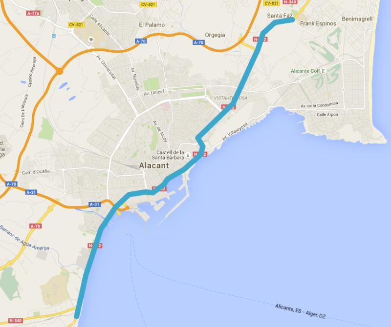 Alicante Ciudad Vuelta 2015