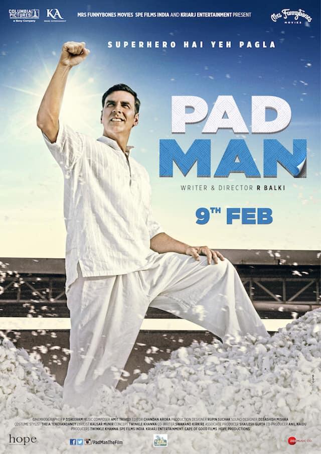 2019年 PAD MAN-Akshay Radhika