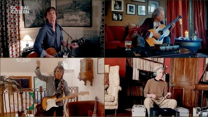 "Los Rolling Stones interpretaron""You Can't Always Get What You Want"", una de las apariciones más celebradas de la noche."