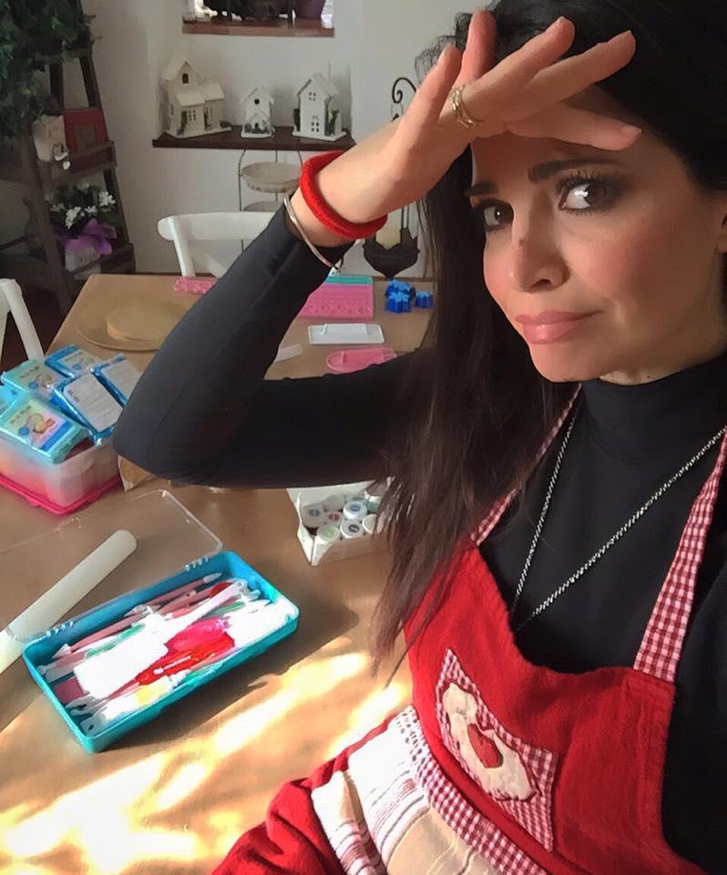 Laura Torrisi da attrice a pasticcera per il compleanno