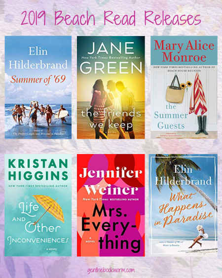 2019 beach books