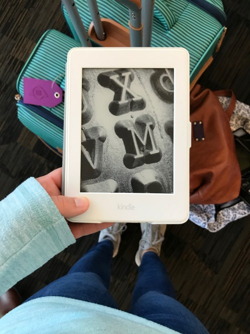 Kindle in the airport