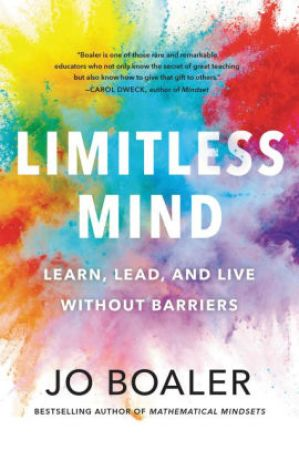 book review of Limitless Mind by Jo Boaler