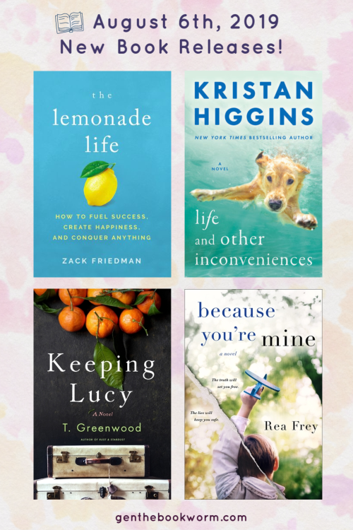 August 6th, 2019 new book releases