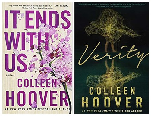 Verity and It Ends With Us by Colleen Hoover